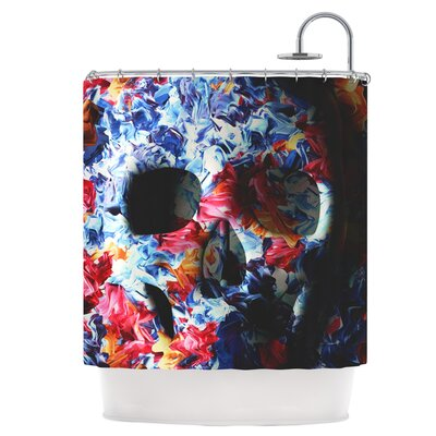 Skull Light Shower Curtain