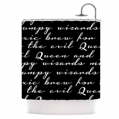Grumpy Wizards Shower Curtain