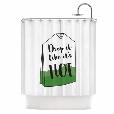 Drop It Shower Curtain