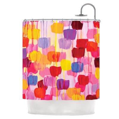Dotty in Pink Shower Curtain