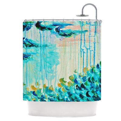 Poseidons Wrath Shower Curtain