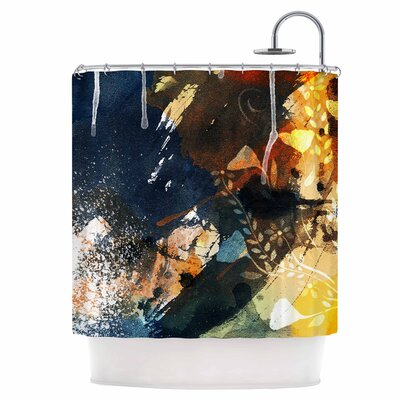 Li Zamperini Shower Curtain