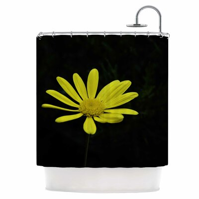 Pedal Daisy Shower Curtain