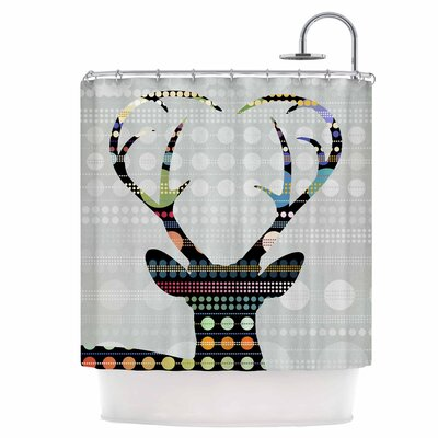Pop Deer Shower Curtain