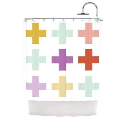 Mint Orchid Plus Shower Curtain