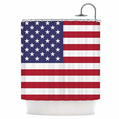 Flag of USA Shower Curtain