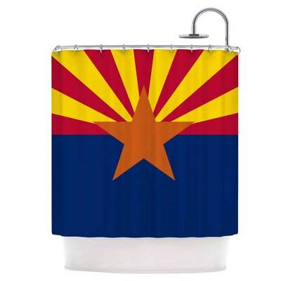 Flag of Arizona Shower Curtain