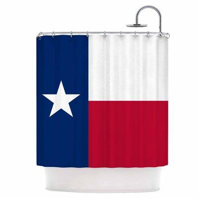 Flag of Texas Shower Curtain