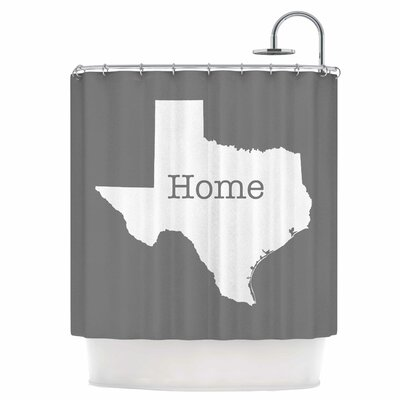 Texas is Home Shower Curtain