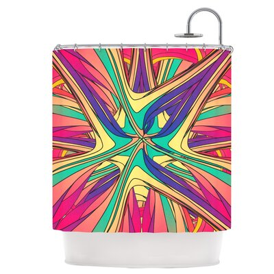 Veins Shower Curtain
