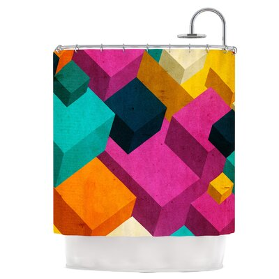 Cubes Shower Curtain