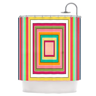 Floor Pattern Shower Curtain