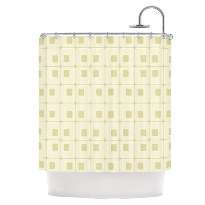Squares in Square Shower Curtain