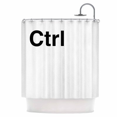 Ctrl Shower Curtain
