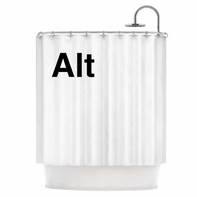 Alt Shower Curtain