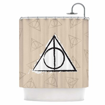 Hollows Shower Curtain