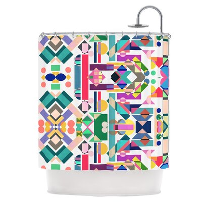 Geometry 2B Shower Curtain