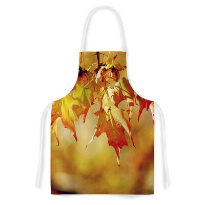 Autumn Leaves by Angie Turner Vibrant Artistic Apron HACO8256 33762589