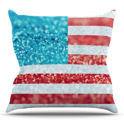 Glitter by Beth Engel Outdoor Throw Pillow