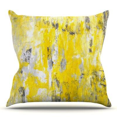 Picking Around by CarolLynn Tice Outdoor Throw Pillow