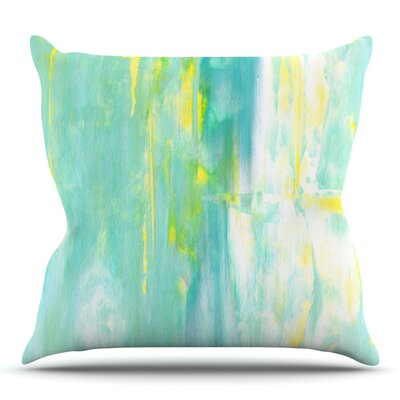 Spring Forward by CarolLynn Tice Outdoor Throw Pillow