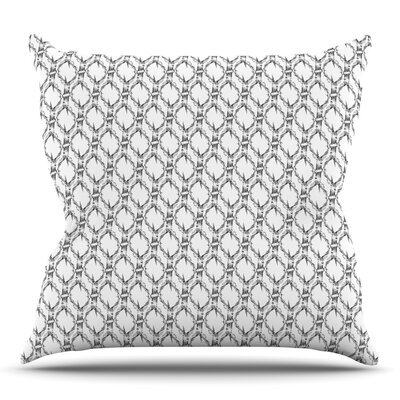 Deer Deer by DLKG Design Outdoor Throw Pillow