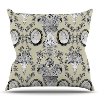 Imperial Palace by DLKG Design Outdoor Throw Pillow