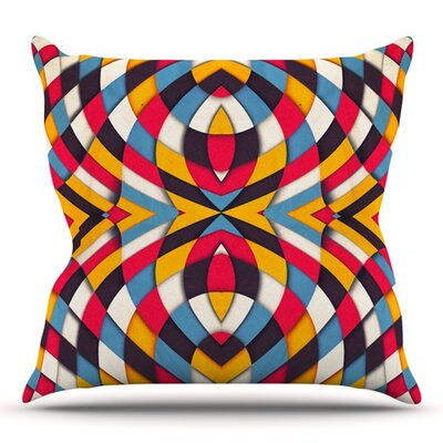 Stained Glass by Danny Ivan Outdoor Throw Pillow