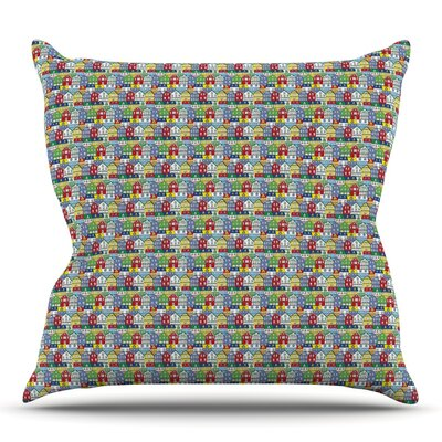 Reykjavik by Holly Helgeson Outdoor Throw Pillow