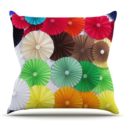 Adored by Heidi Jennings Outdoor Throw Pillow