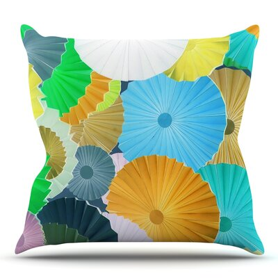 Curiousity by Heidi Jennings Outdoor Throw Pillow