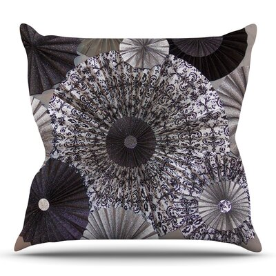 Shadows by Heidi Jennings Outdoor Throw Pillow