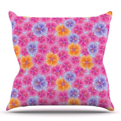 My Garden by Julia Grifol Outdoor Throw Pillow