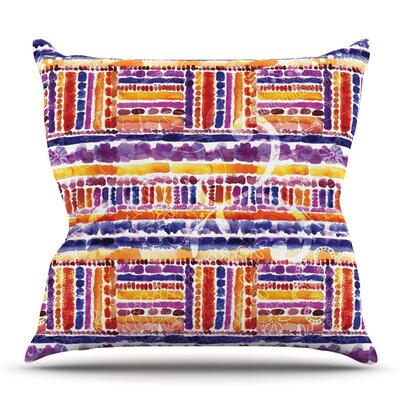 Tribal by Louise Machado Outdoor Throw Pillow