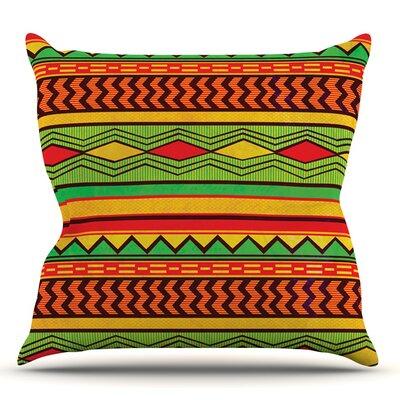 Egyptian by Louise Machado Outdoor Throw Pillow
