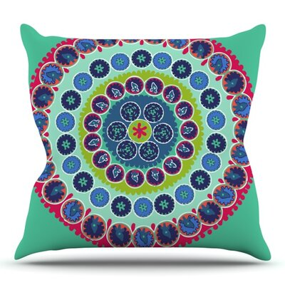 Surkhandarya by Laura Nicholson Outdoor Throw Pillow