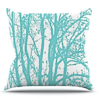 Trees by Monika Strigel Outdoor Throw Pillow