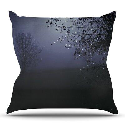 Song of the Nightbird by Monika Strigel Outdoor Throw Pillow