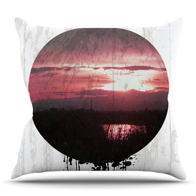 Valley by Micah Sager Outdoor Throw Pillow