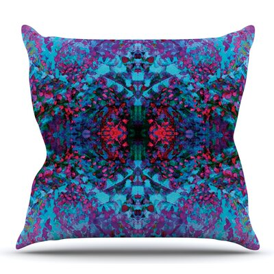 Boysenberry by Nikposium Outdoor Throw Pillow