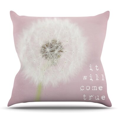 It Will Come True by Susannah Tucker Outdoor Throw Pillow