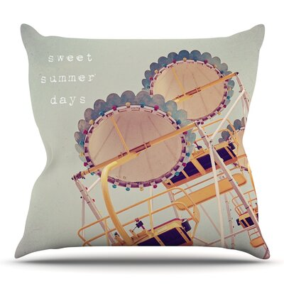 Sweet Summer Days by Susannah Tucker Outdoor Throw Pillow