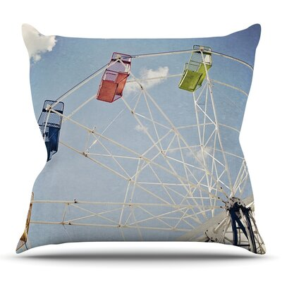 The Show Came to Town by Susannah Tucker Outdoor Throw Pillow