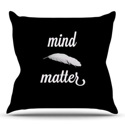 Mind Over Matter by Skye Zambrana Outdoor Throw Pillow