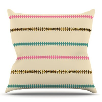 Diamonds by Skye Zambrana Outdoor Throw Pillow