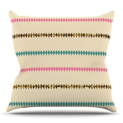 Diamonds by Skye Zambrana Outdoor Throw Pillow