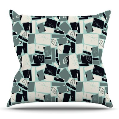 Vacation Days Chess by Allison Beilke Outdoor Throw Pillow