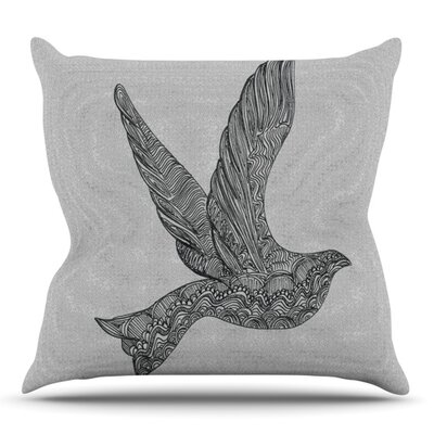 Dove by Belinda Gillies Outdoor Throw Pillow