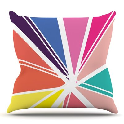 Boldly Bright by Belinda Gillies Outdoor Throw Pillow