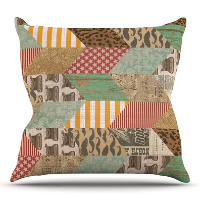 Hodge Podge by Heidi Jennings Outdoor Throw Pillow